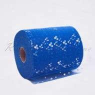 Royal Blue Sequin Tulle Roll